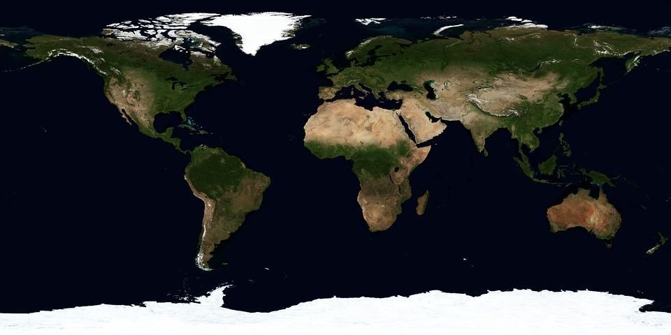 Картинки Земли для детей - красивые, интересные, с космоса 7