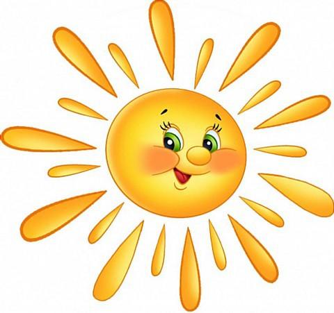 Картинки солнышка с улыбкой и лучиками - для детей, смотреть 7