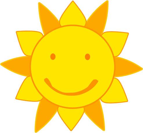 Картинки солнышка с улыбкой и лучиками - для детей, смотреть 9