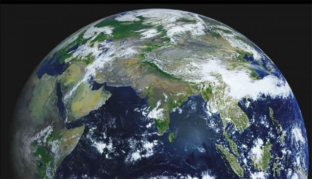 Красивые картинки земли из космоса - для детей, прикольные 1