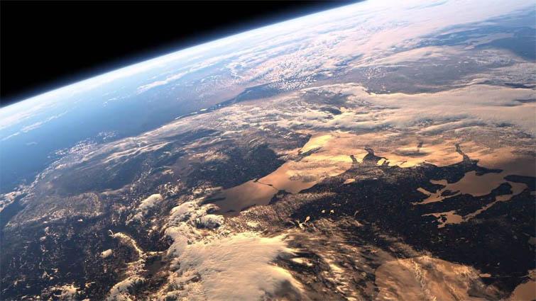 Красивые картинки земли из космоса - для детей, прикольные 13