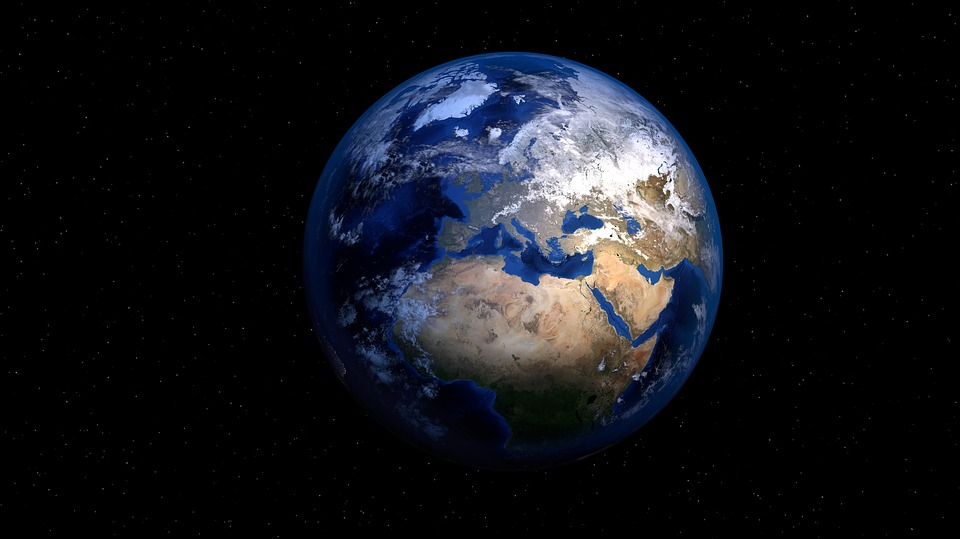 Красивые картинки земли из космоса - для детей, прикольные 8