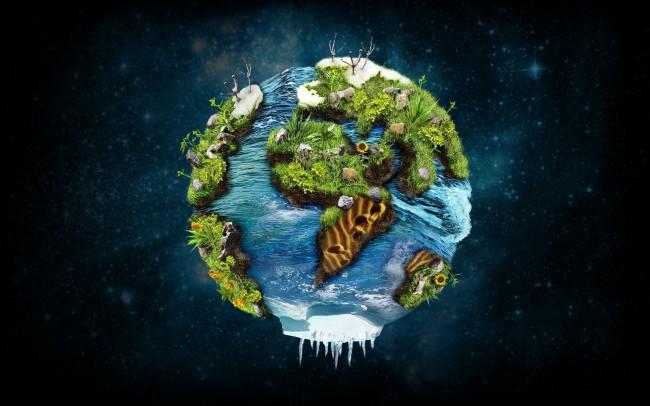Красивые картинки - планета Земля для детей, смотреть бесплатно 6