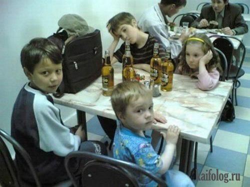 Прикольные и смешные фото про детей - смотреть бесплатно 12