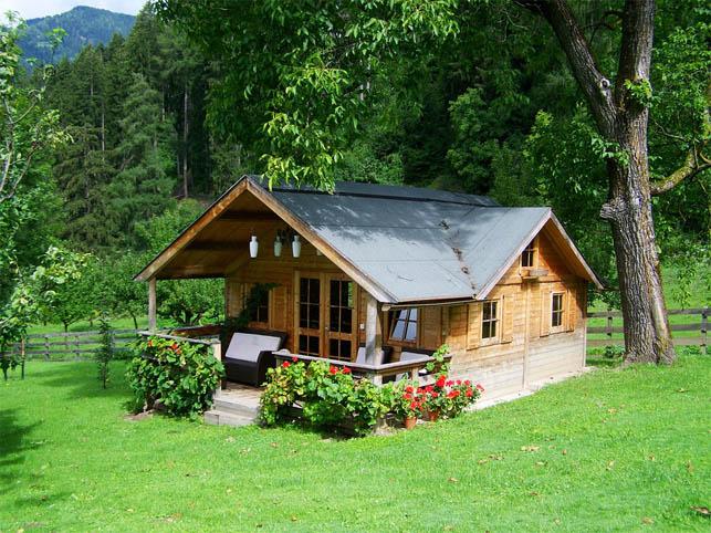 Удивительные и красивые деревянные дома - фото, картинки 1