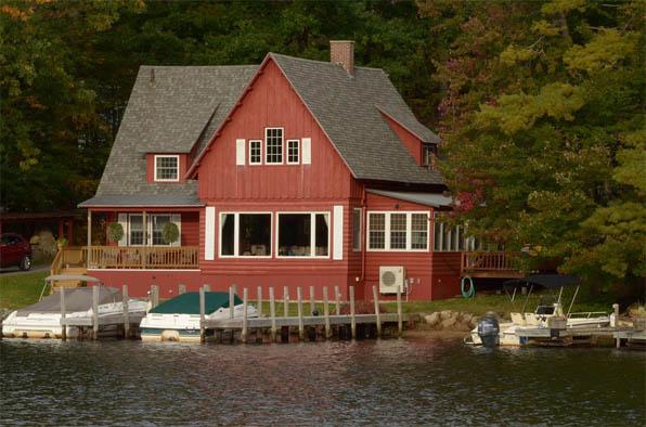 Удивительные и красивые деревянные дома - фото, картинки 2