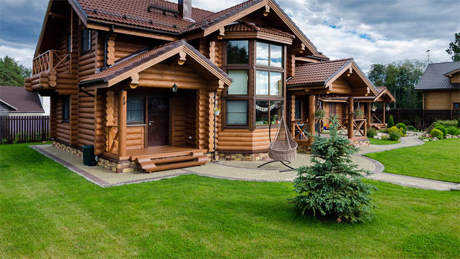 Удивительные и красивые деревянные дома - фото, картинки 8