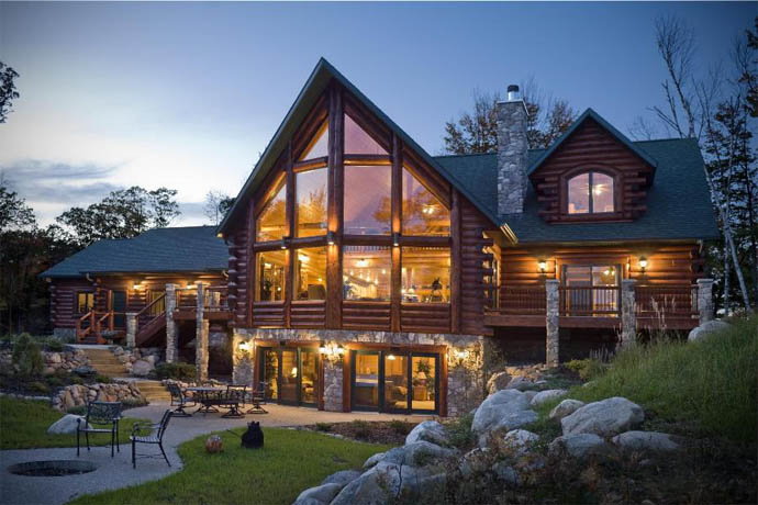 Удивительные и красивые деревянные дома - фото, картинки 9