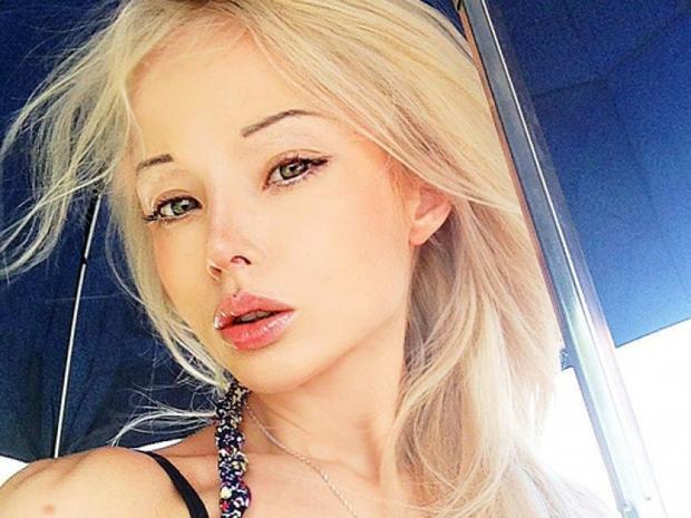 Украинская барби Валерия Лукьянова - фото, без макияжа 10