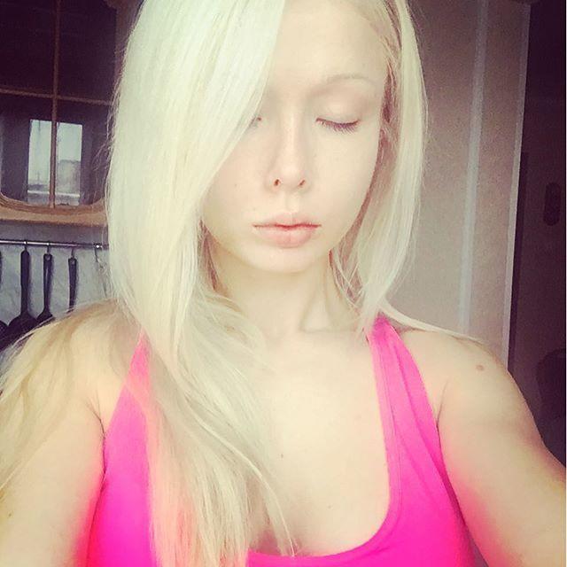 Украинская барби Валерия Лукьянова - фото, без макияжа 5