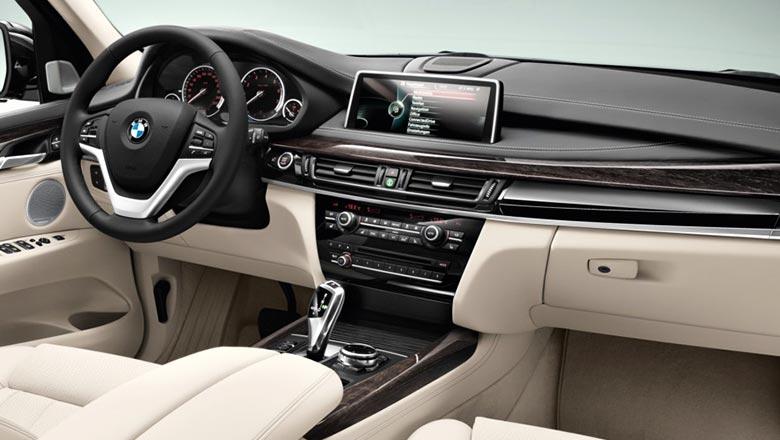 BMW x5 2017 года - новая модель, фото, красивые, салон 7