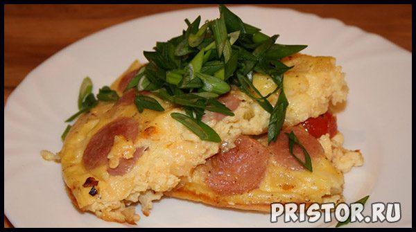 Что можно приготовить из яиц и муки - вкусные блюда 4
