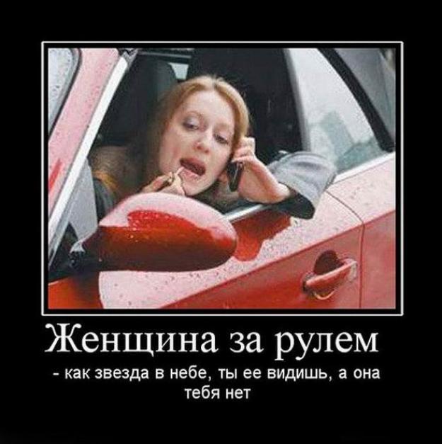 Женщина за рулем фото - веселые, забавные, смешные 1