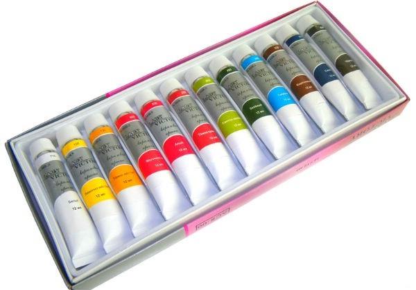 Как рисовать акриловыми красками на холсте, бумаге, советы 1