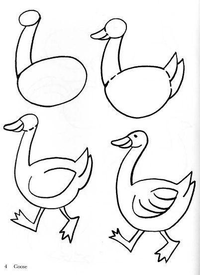 Как рисовать животных поэтапно карандашом для начинающих 8
