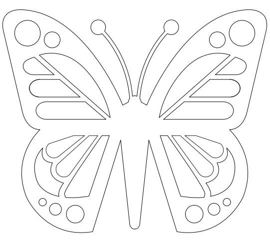 Как сделать бабочку из бумаги, бисера, проволоки своими руками 5