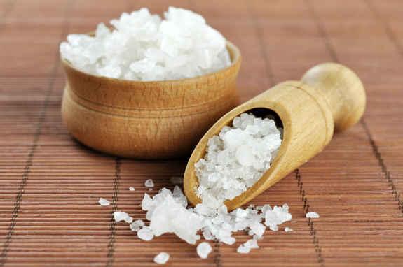 Как сделать ванночки с морской солью 371