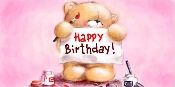 Картинки С Днем Рождения подруге - прикольные, смешные, веселые 3