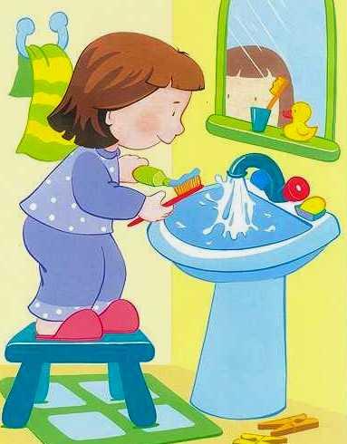Красивые картинки - Здоровый образ жизни для детского сада 1