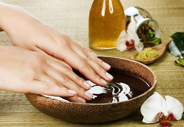 Морская соль для ногтей ванночка - польза и вред, как принимать 2