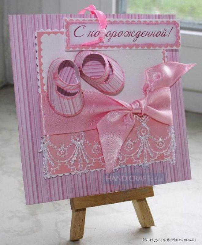 Вязание для девочки шапочки новорожденной