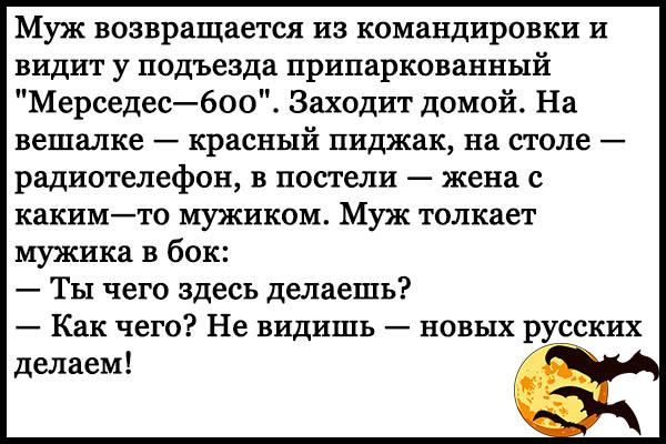 Ржачные и смешные анекдоты про русских - читать бесплатно, онлайн 12