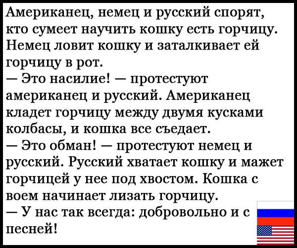 Смешные анекдоты про русских и американцев - читать бесплатно 5