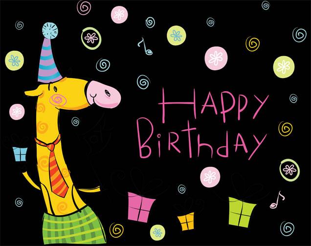 Смешные картинки С Днем Рождения подруге - скачать, смотреть 13