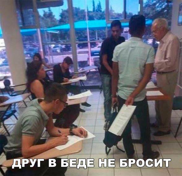 Смешные картинки до слез про школу с надписями - смотреть бесплатно 15