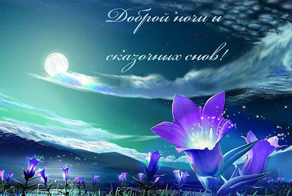 Спокойной ночи картинки с надписями - красивые, прикольные, крутые 2