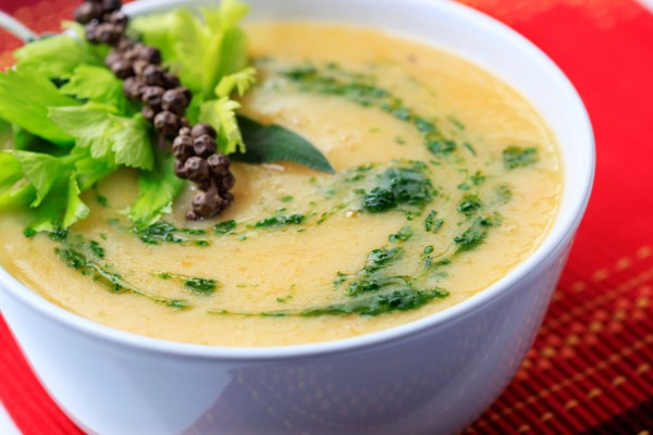 Суп пюре из цветной капусты - рецепт, пошаговый, с фото 1