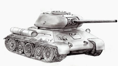Танк т-34 картинки - красивые, прикольные, классные, крутые 12