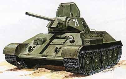 Танк т-34 картинки - красивые, прикольные, классные, крутые 8