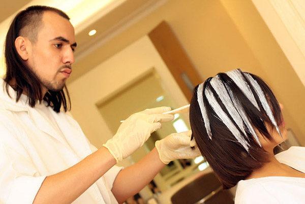 Эффект выгоревших волос на темных волосах - фото, описание 3