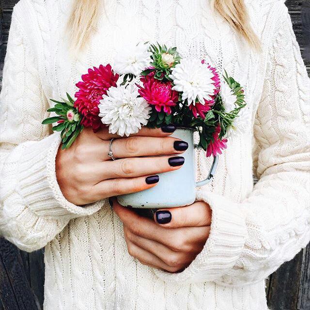 Фото на аву цветами
