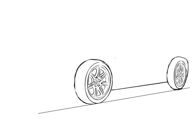 Как рисовать машину карандашом поэтапно - советы для начинающих 4