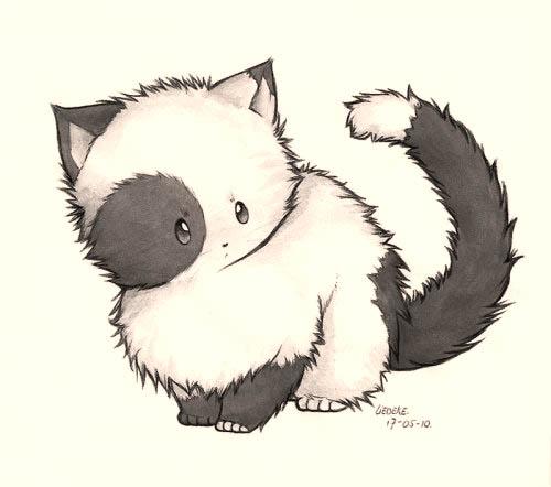 Как рисовать шерсть или мех животных - советы для начинающих 5