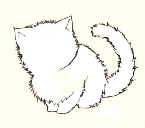 Как рисовать шерсть или мех животных - советы для начинающих 6