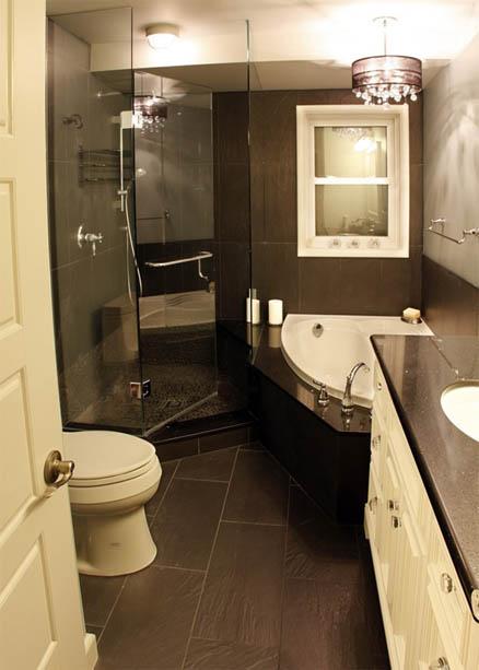 Как сделать ремонт в маленькой ванной своими руками - фото и идеи 10