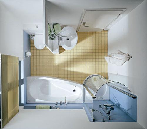 Как сделать ремонт в маленькой ванной своими руками - фото и идеи 11