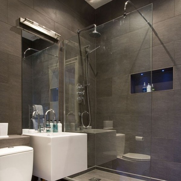 Как сделать ремонт в маленькой ванной своими руками - фото и идеи 13
