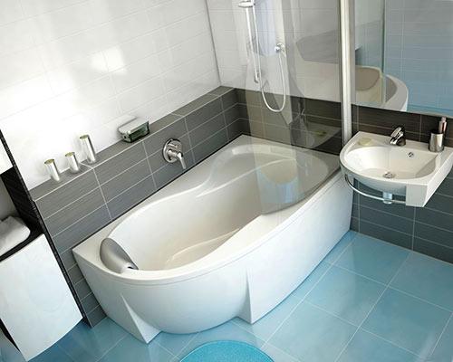 Как сделать ремонт в маленькой ванной своими руками - фото и идеи 19