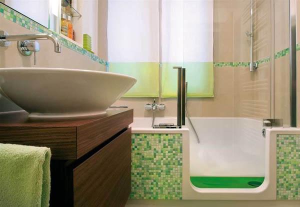 Как сделать ремонт в маленькой ванной своими руками - фото и идеи 20