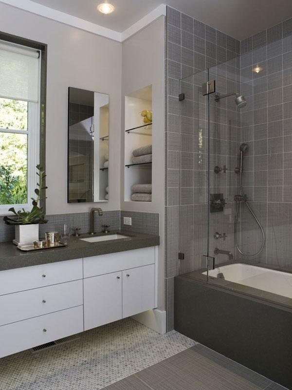 Как сделать ремонт в маленькой ванной своими руками - фото и идеи 21