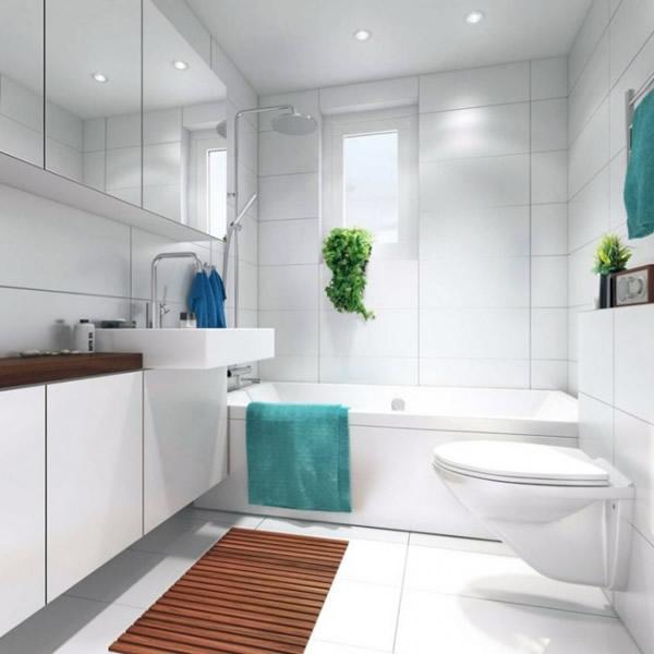 Как сделать ремонт в маленькой ванной своими руками - фото и идеи 22