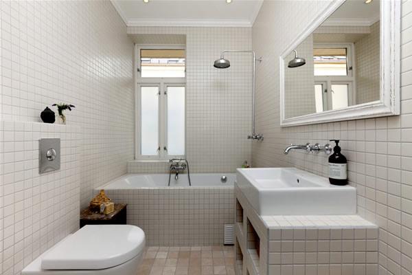 Как сделать ремонт в маленькой ванной своими руками - фото и идеи 23