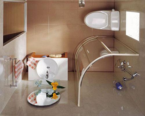 Как сделать ремонт в маленькой ванной своими руками - фото и идеи 24