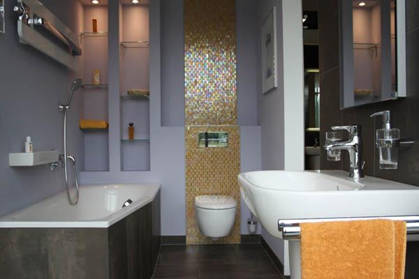 Как сделать ремонт в маленькой ванной своими руками - фото и идеи 7