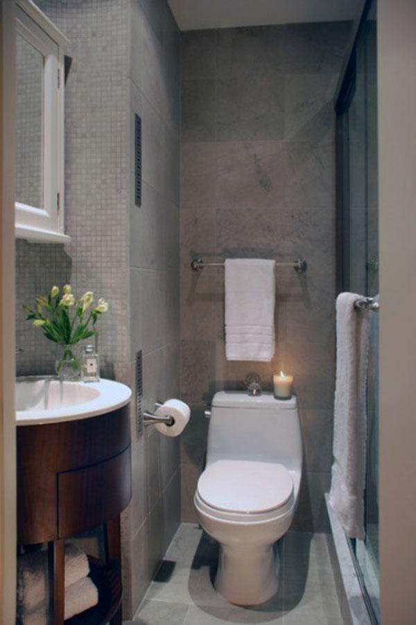 Как сделать ремонт в маленькой ванной своими руками - фото и идеи 9