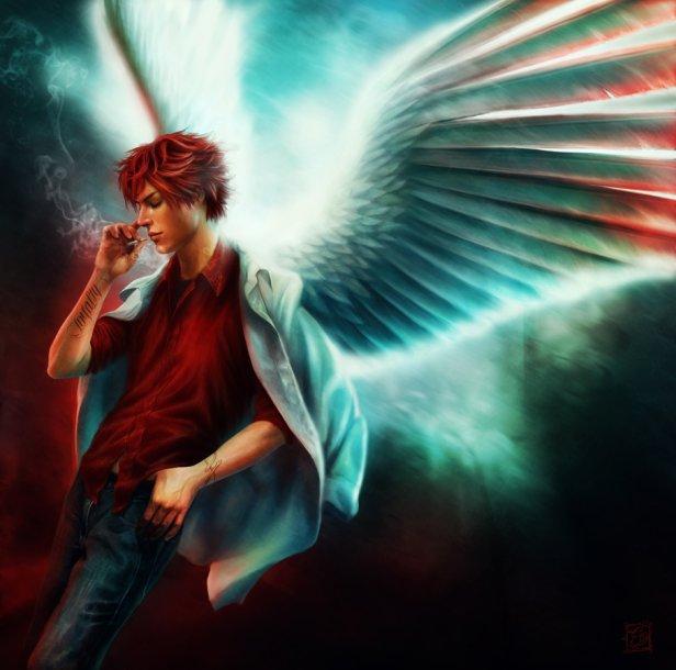 Картинки ангелов с крыльями - красивые, прикольные, интересные 15